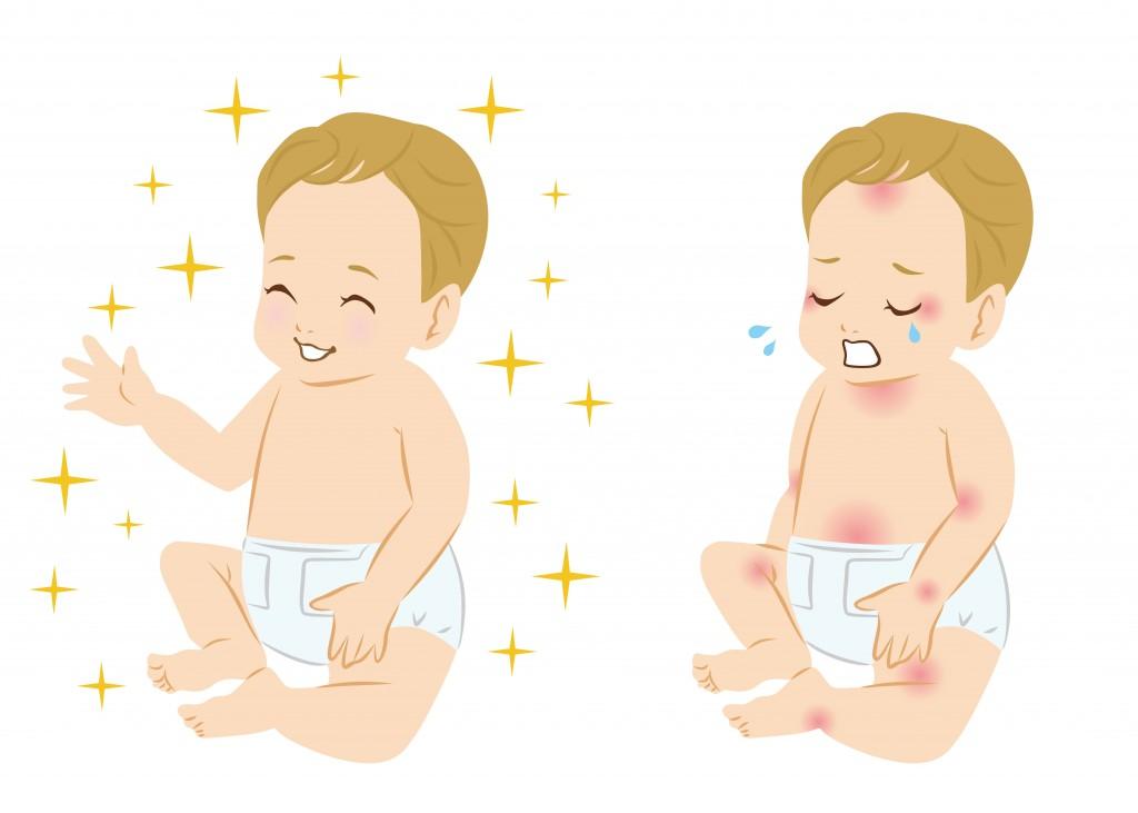 Atopowe zapalenie skóry dziecka