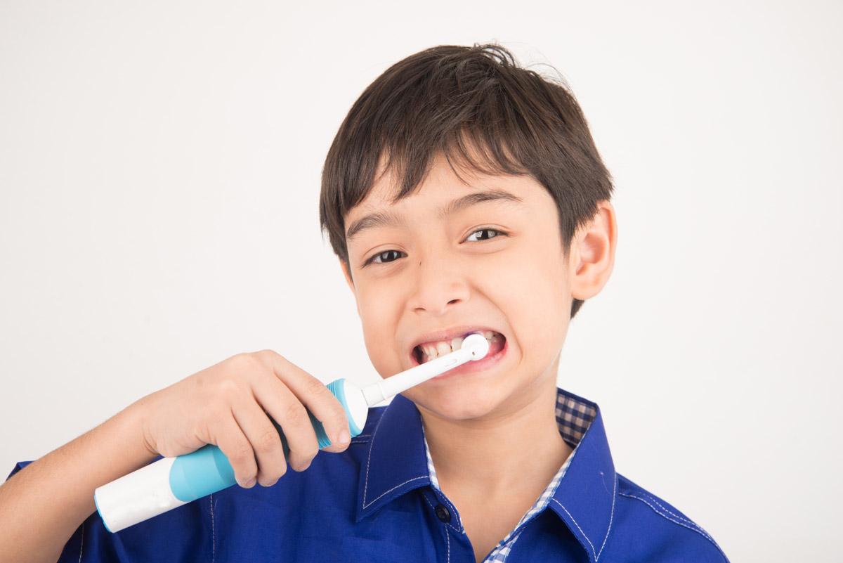elektryczna szczoteczka do zębów, dziecko